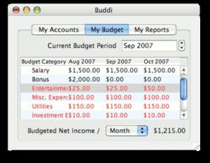 logiciel buddi budget mac
