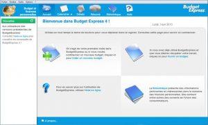 logiciel budget express 4