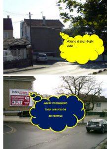 Installer un panneau publicitaire sur sa maison pour gagner de l'argent