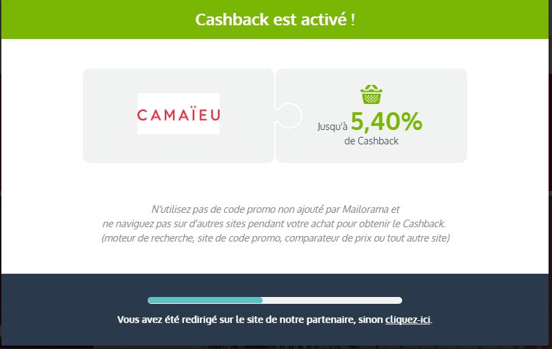 cashback mailorama