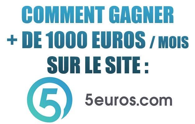 gagner plus de 1000€ avec le ste 5euros