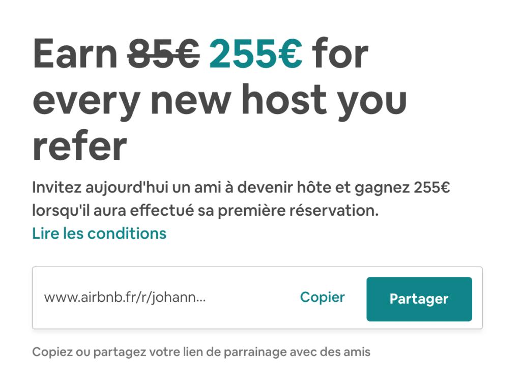 programme partenariat airbnb