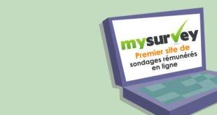 Mysurvey sondages rémunères