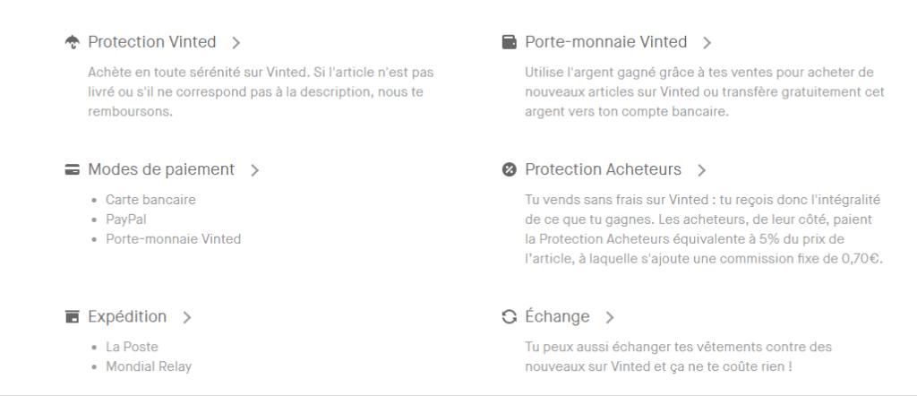 détaillant comment acheter boutique officielle Vinted: l'application smartphone pour vendre ses vêtements