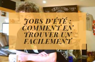 Jobs d'été : comment en trouver un facilement et rapidement