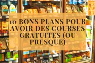 10 Bons Plans Pour Avoir Des Courses Gratuites (ou Presque)