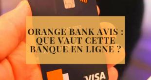 Orange Bank avis