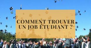 comment trouver un job étudiant
