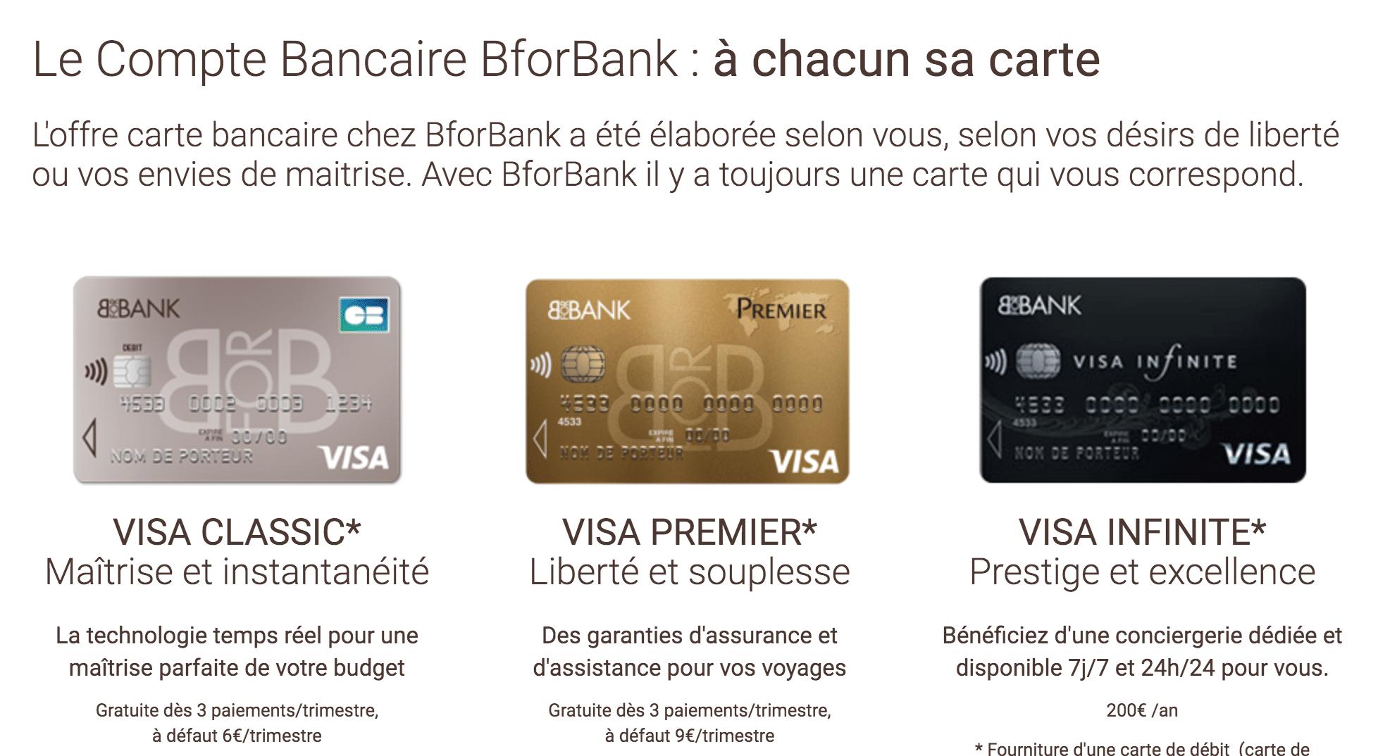 Conditions pour ouvrir un compte BforBank