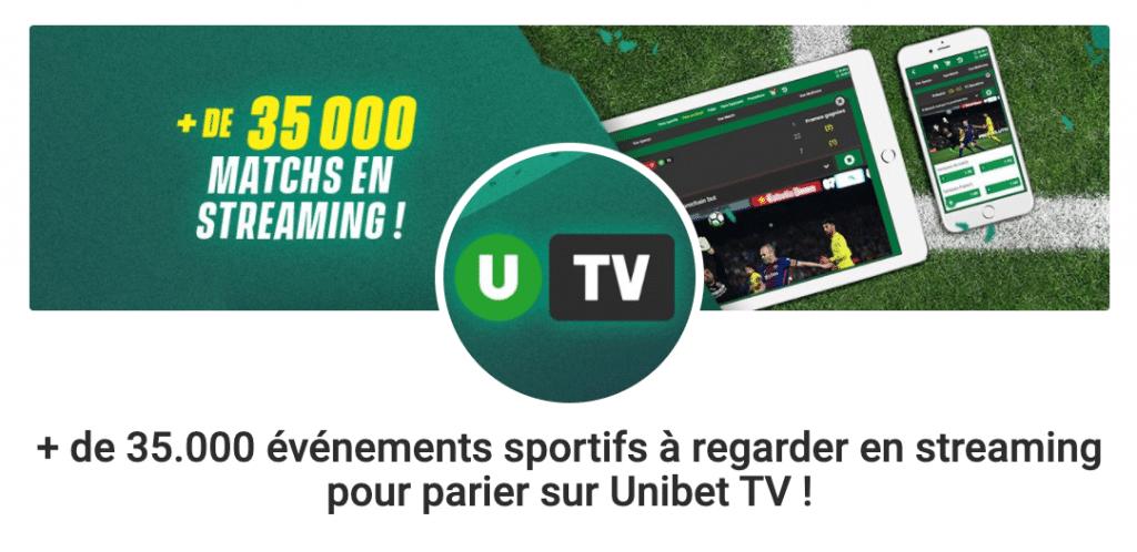 Paris en direct avec Unibet TV