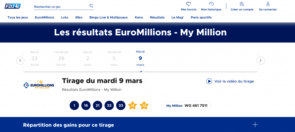 resultats euromillions